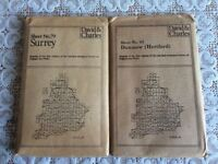 2 David &Charles reprint ordnance survey of England and Wales
