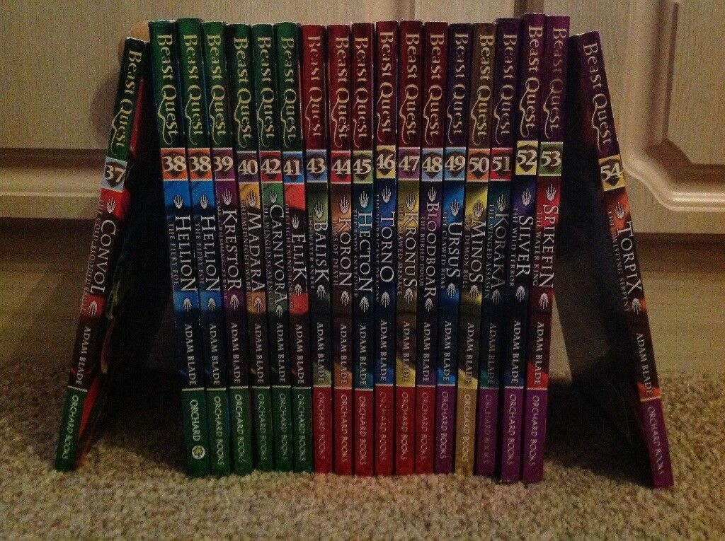 Selection of Beast quest books - 35 in total