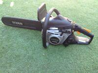USED TITAN TTL632CHN 40CM 35CC PETROL CHAINSAW