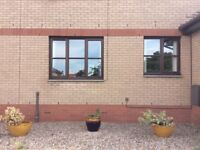 Immaculate 2 bedroom ground floor unfurnished flat for private rent in sought after area of Bo'ness