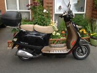 Scooter for sale a one owner 750miles NOW SOLD GONE TO VERY NICE HOME THANKYOU