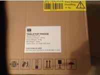 Table top fridge- excellent condition