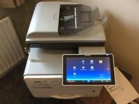 Ricoh MPc306 laser printer scanner fax machine touch screen