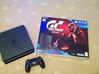 Sony slim ps4 500gb used once