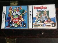 Two DS games for sale.