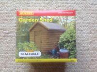Hornby garden shed