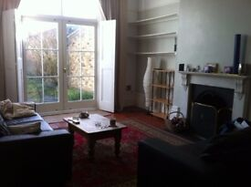 2 Bedroom Garden Flat in Finsbury Park. Conversion of a Victorian House with large patio & garden.