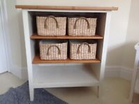 Wooden Baby Changing Table / Storage Unit