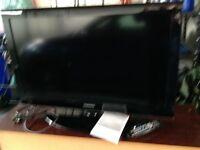 "37"" Samsung flat screen television"
