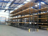 LINK 51 INDUSTRIAL COMMERCIAL PALLET RACKING FRAMES BEAMS (Brentwood Branch)