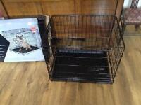 Small dog/puppy cage, as new