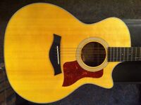 Taylor 314CE LTD Koa Limited Edition (2012) Grand Auditorium Electro Acoustic Guitar