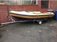 """""""""""4 mtr Boat Ri5 Inflatable """""""" Ready To Go"""""""""""