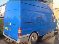 Transit 125 T330 mwb high top ,MOT Aug 2017, 77,000miles c/w tow at and high security slam locks.