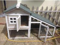 Guinea pig/ pet house and run