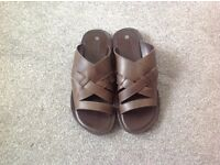 Brand new Leather sandals size 9