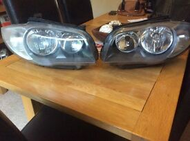 BMW 1 series 2008 headlights