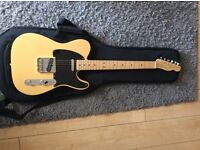 Fender telecaster 1 year old! Perfect condition, only played 4 times!!!