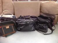 Collection of travel and sports bags
