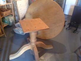 Farmhouse dining table,pine.