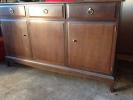 Stag Minstrel Mahogany style sideboard