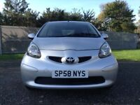 THE ULTIMATE 1ST CAR AYGO LIKE C1 & 107 LOW MILEAGE 51000 FULL YEAR MOT LOWEST INSURANCE £20 TAX.