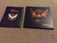 The Clancy's The Division Artbook and poster brand new