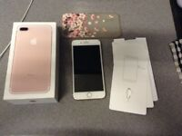 iPhone 7 Plus 32GB Rose Gold *like new*