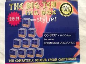 Styljet CC-BT37 ink Cartridge for Epson