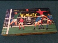 Vintage Wembley football game