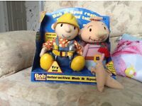 talking bob the builder & spud complete with box