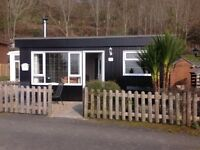 FREEHOLD CHALET FOR SALE ABERDOVEY MID WALES. STUNNING ESTUARY VIEWS