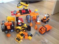 Mega blocks super construction site
