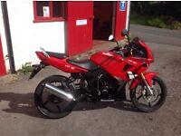 2012 Lexmoto XTR 125 Four Stoke Motorcycle