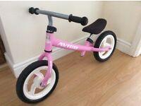 Pink Kids Balance Bike