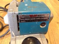Wolf 4inch 100mm Belt Sander 240v