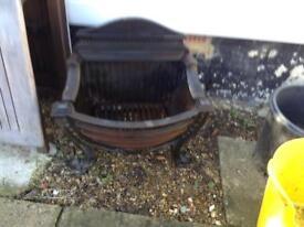 Cast iron fireplace Georgian style. Large heavy item