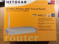 Netgear DG834G ADSL wifi router