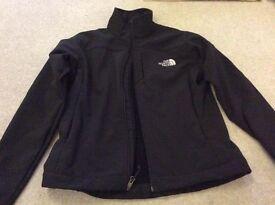 North Face LADIES apex neoprene black jacket size small GENUINE