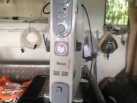 Swan electric heater on wheels as new , timer and thermostat 2 power settings , see photos
