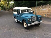 """Land Rover Series 2 88""""- 4CYL 1979"""