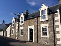 Portknockie Holiday Cottage, detached 4 Bedroom, 2 Bathroom, sleeps 7 near coast and beachs