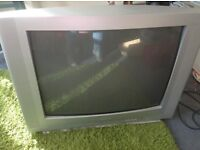 Sanyo CRT television to clear urgently