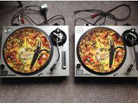 Technics Direct Drive twin turntables system 1200 MK2 decks. £650 ONO