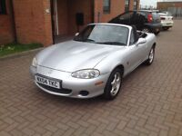 MAZDA MX5 (04) LOW MILES.,SERVICE HISTORY, HPICLEAR.
