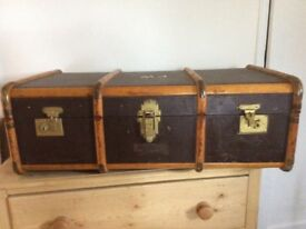 Old travel case for merchant seaman
