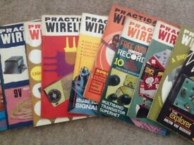 Practical Wireless Magazines from 1950 to 1990 v.good condition 466 in total