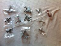 COLLECTION OF UNBOXED DINKY TOY AEROPLANES