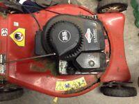 working motor for broken lawnmower