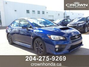 2015 SUBARU WRX SPORT-TECH - ONE OWNER, LOCAL TRADE, LOW KM'S!